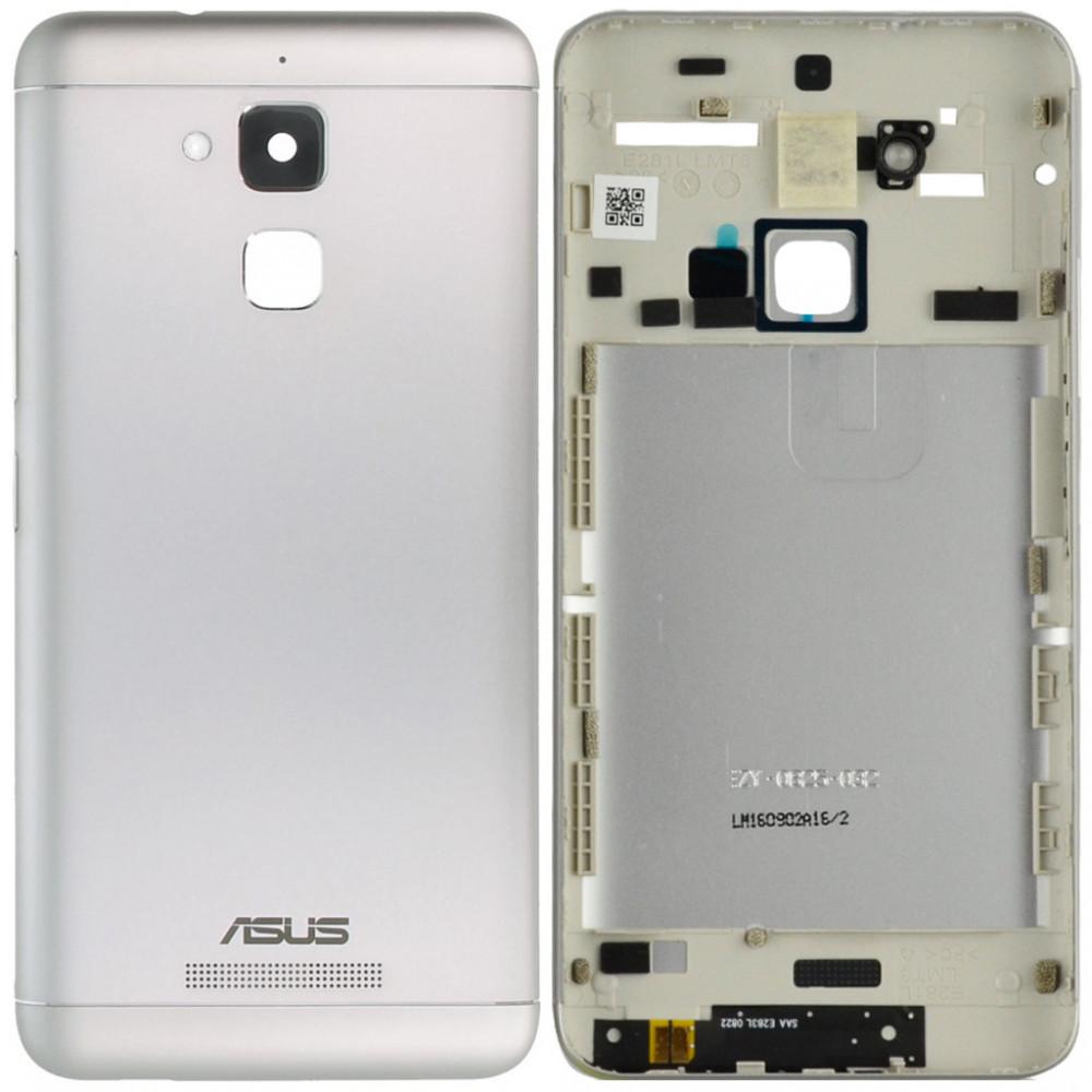 Задняя крышка для Asus Zenfone 3 Max (ZC520TL) серебро