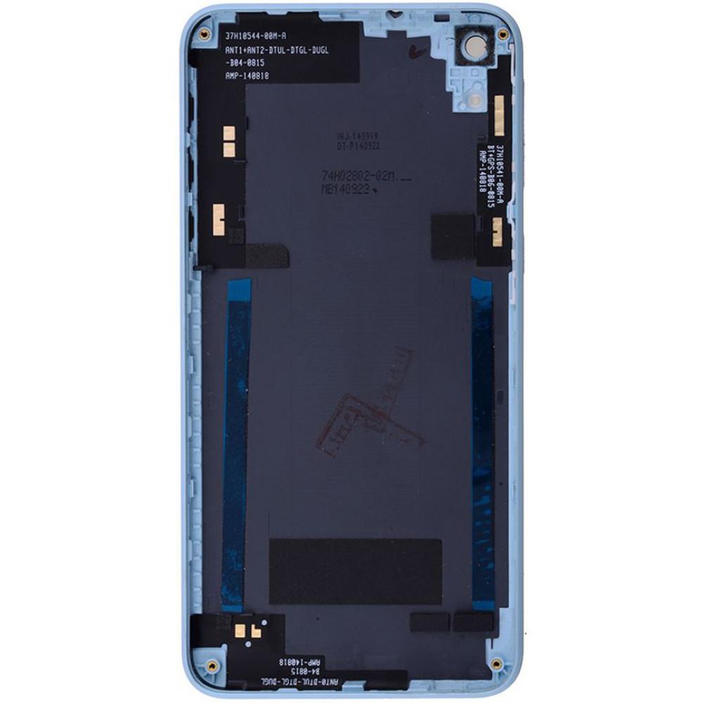 Задняя крышка для HTC Desire 820, серо-голубая
