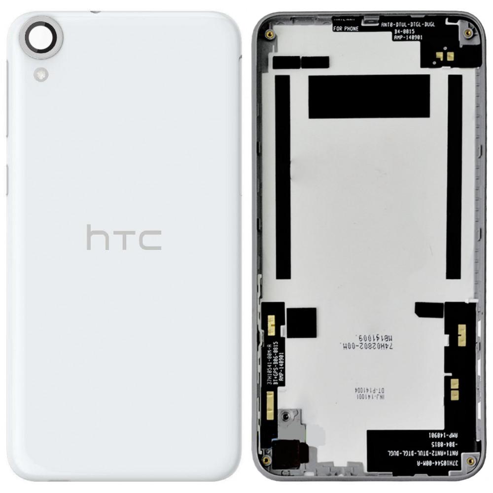 Задняя крышка для HTC Desire 820, бело-серая