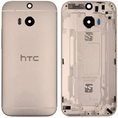 Задняя крышка для HTC One M8, золото