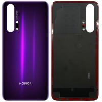 Задняя крышка для Huawei Honor 20 Pro, мерцающий черно-фиолетовый