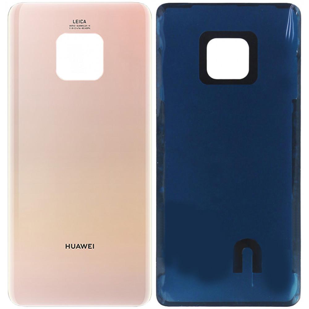 Задняя крышка для Huawei Mate 20 Pro, розовая (Pink Gold)
