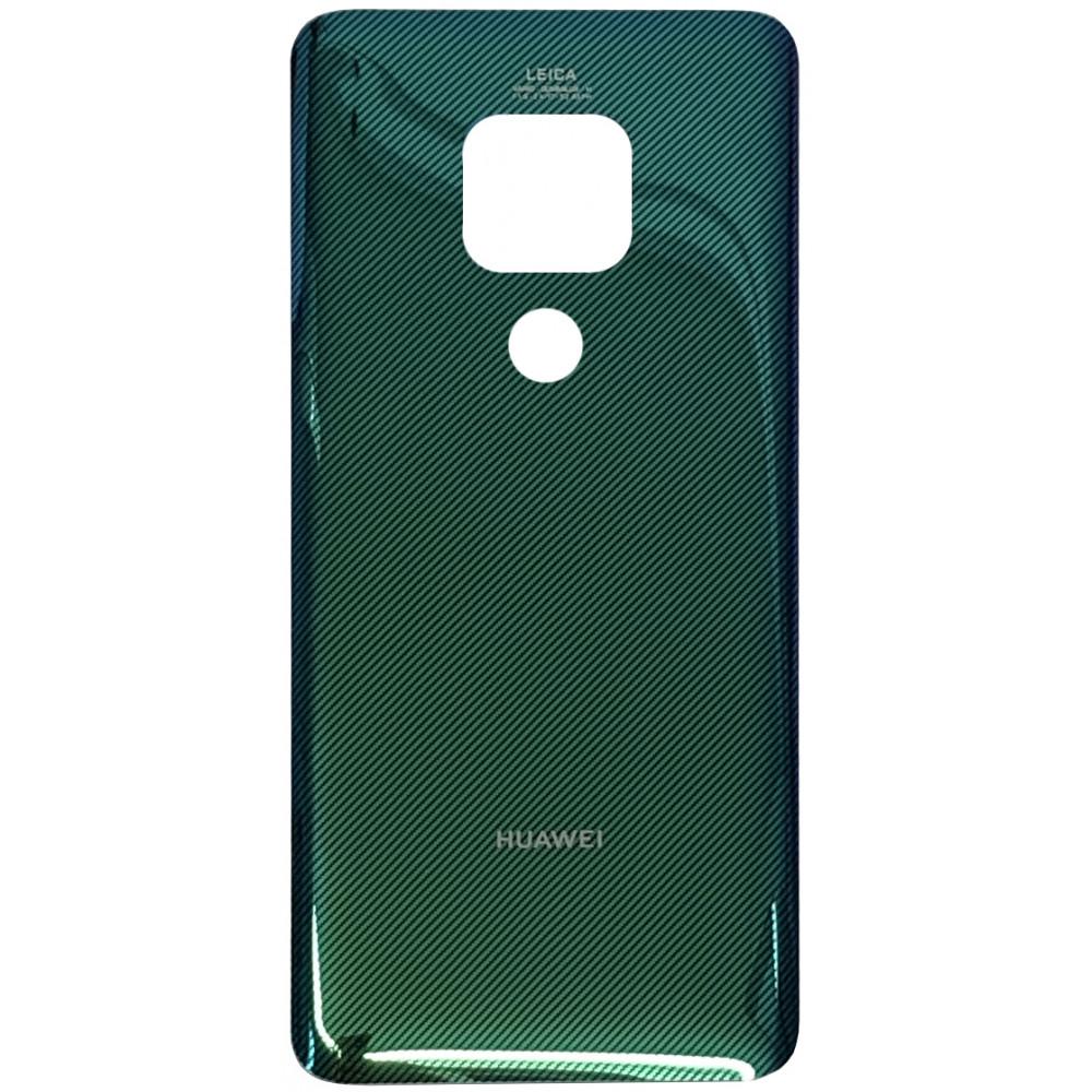 Задняя крышка для Huawei Mate 20, зеленая с тиснением (Emerald Green)