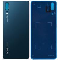 Задняя крышка для Huawei P20, синяя ( Midnight Blue )