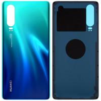Задняя крышка для Huawei P30, зеленый (Aurora Blue)