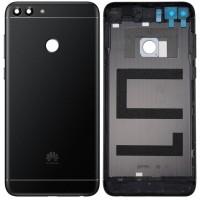 Задняя крышка для Huawei P Smart (2018), черная