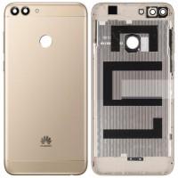 Задняя крышка для Huawei P Smart (2018), золотая