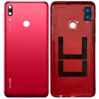 Задняя крышка для Huawei P Smart (2019), красная