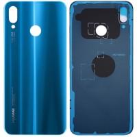 Задняя крышка для Huawei P20 Lite (2018) / Nova 3E, синяя