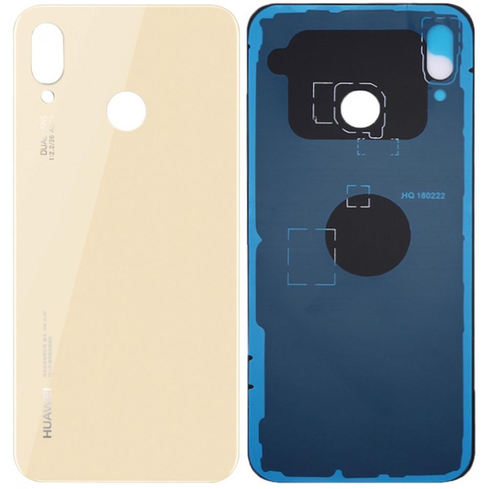 Задняя крышка для Huawei P20 Lite (2018) / Nova 3E, золото