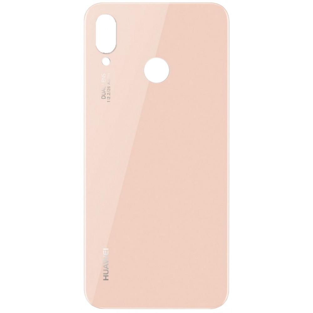 Задняя крышка для Huawei P20 Lite (2018) / Nova 3E, розовая