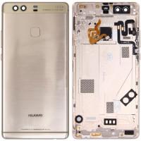 Задняя крышка для Huawei P9 Plus (2017) в сборе с датчиком отпечатка, золото