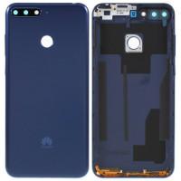 Задняя крышка для Huawei Y6 / Y6 Prime (2018), синяя