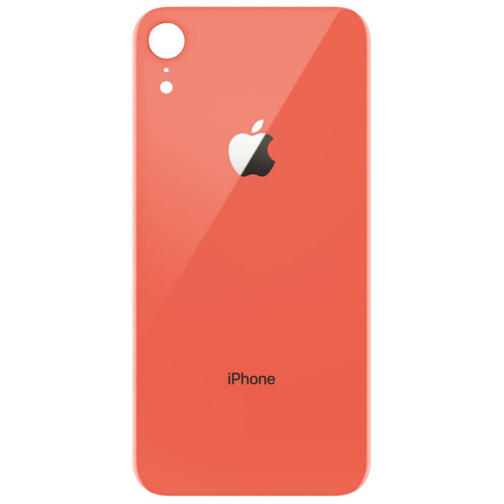 Задняя крышка для iPhone XR, коралловая
