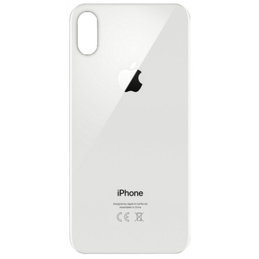 Задняя накладка для iPhone X White