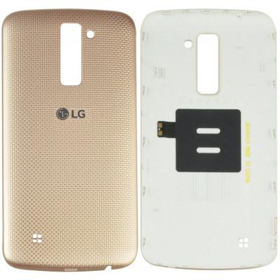 Задняя крышка для LG K10 (2016) золото