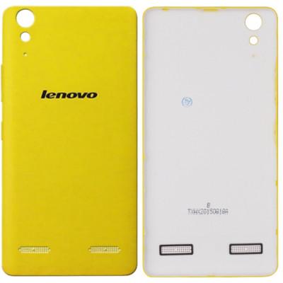 Задняя крышка для Lenovo K3, желтая