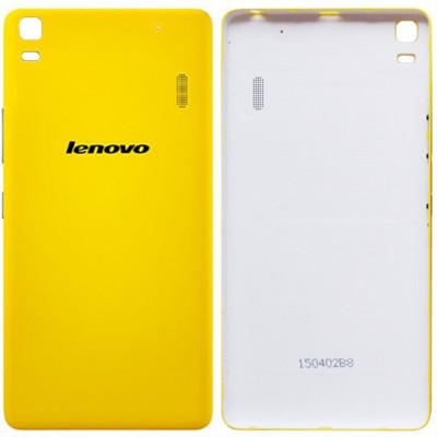 Задняя крышка для Lenovo K3 Note, желтая