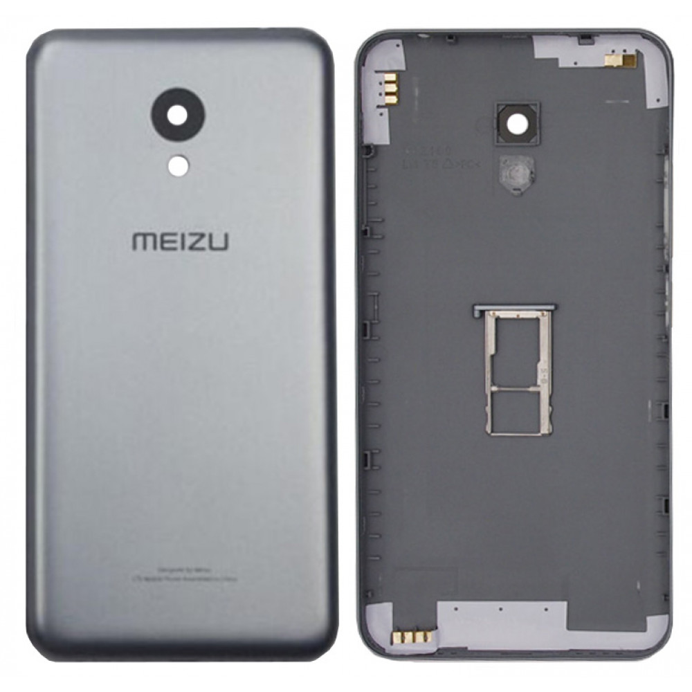 Задняя крышка для Meizu M3 mini серая