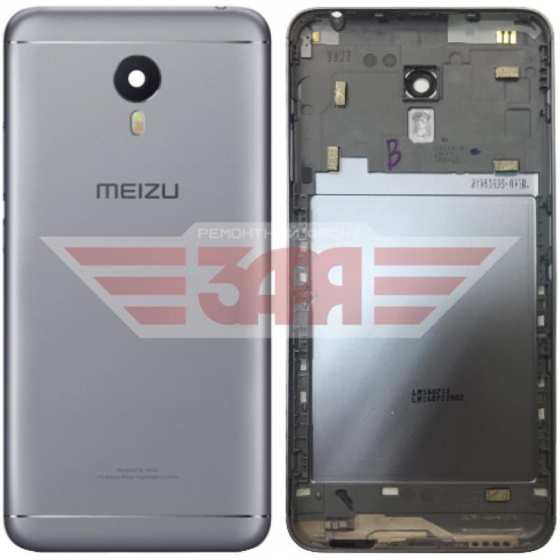 Задняя крышка для Meizu M3 Note (L681h) серая