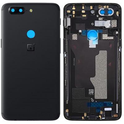 Задняя крышка для OnePlus 5T, черная