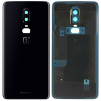Задняя крышка для OnePlus 6, черная (Black)