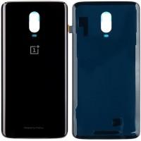 Задняя крышка для OnePlus 6T, черный глянец (Mirror Black)