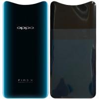 Задняя крышка для OPPO Find X, синяя ( Glacier Blue )