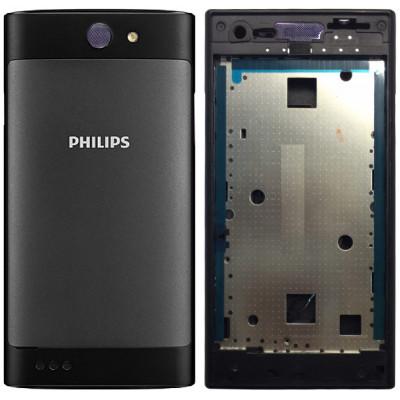 Задняя крышка в сборе со средней частью для Philips Xenium S309