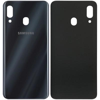 Задняя крышка для Samsung Galaxy A30, черная