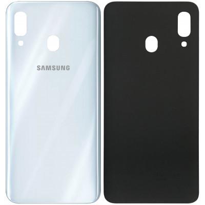Задняя крышка для Samsung Galaxy A30, белая