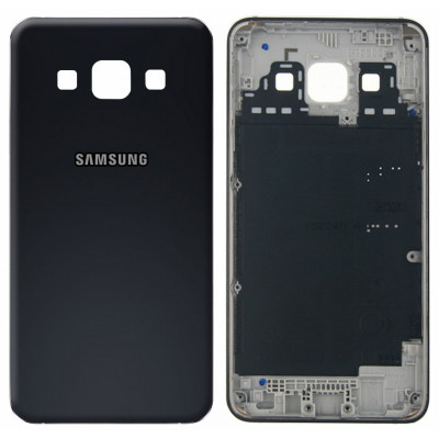 Задняя крышка для Samsung Galaxy A3 (A300F 2015) черная