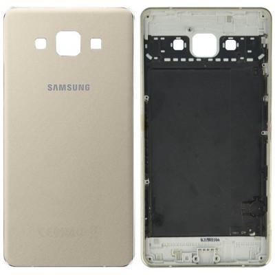 Задняя крышка для Samsung Galaxy A7 (A700F 2015) золотая