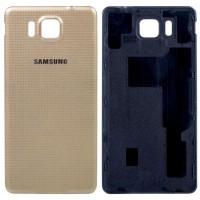 Задняя крышка для Samsung Galaxy Alpha (G850) золотая