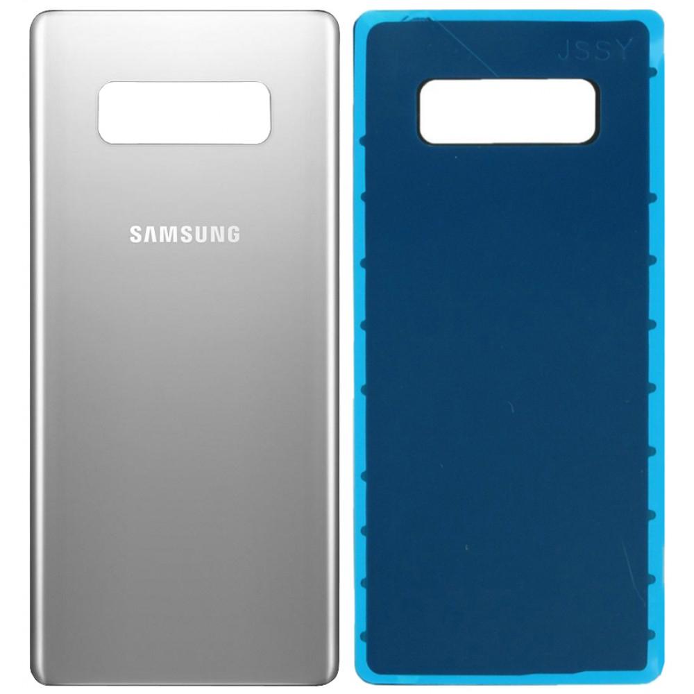 Задняя крышка для Samsung Galaxy Note 8 серебро