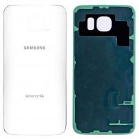 Задняя крышка для Samsung Galaxy S6 Edge белая