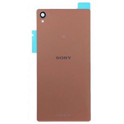 Задняя крышка для Sony Z3 (D6603) золотая