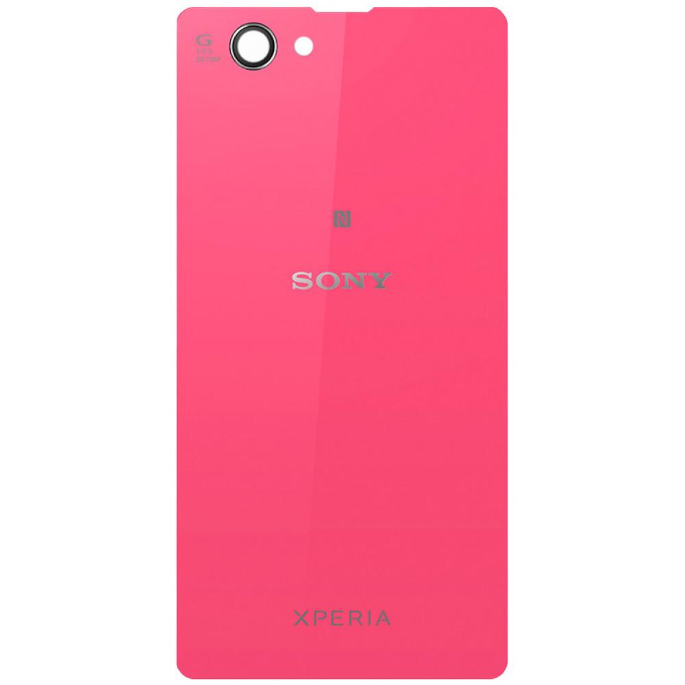 Задняя крышка для Sony Xperia Z1 Compact (D5503) розовая
