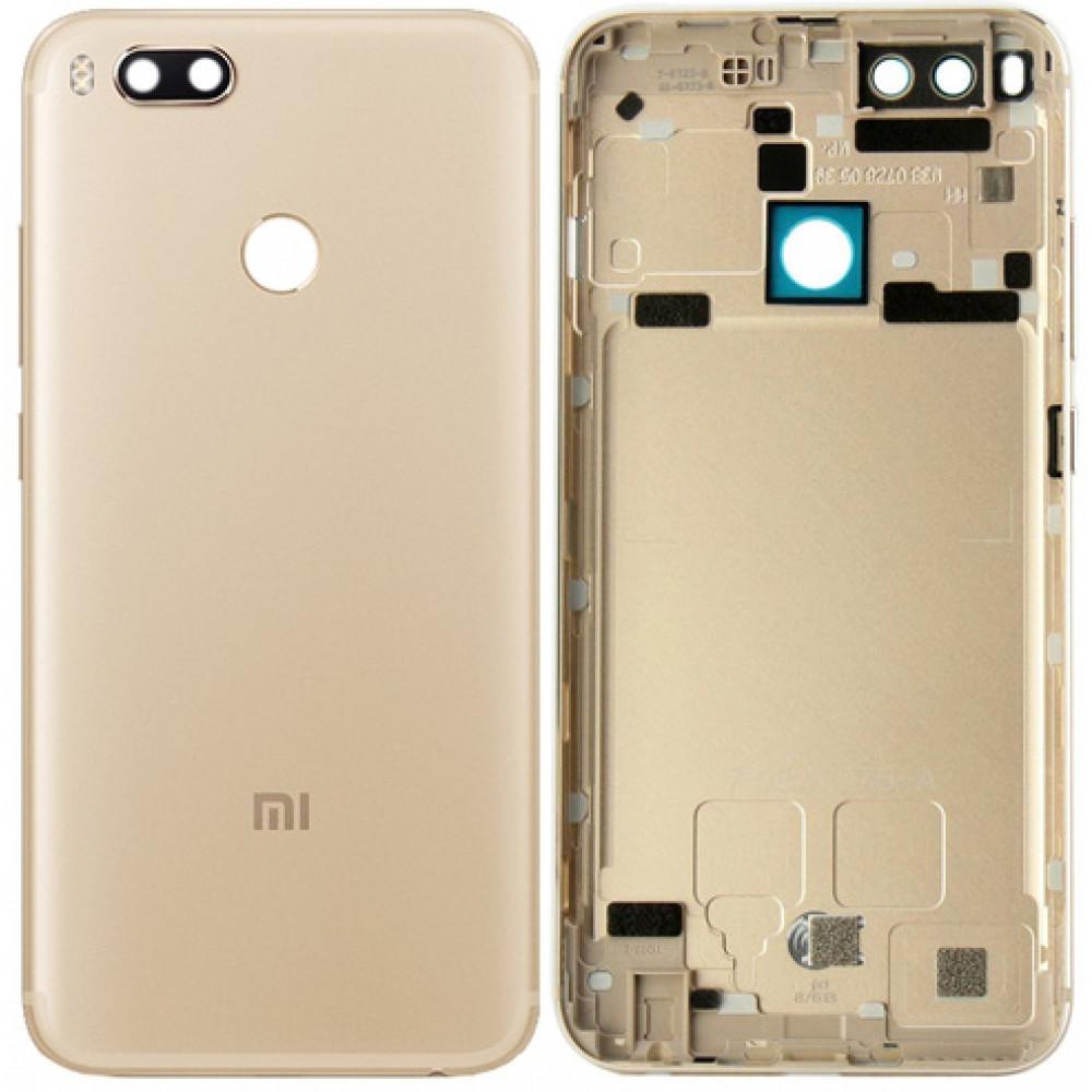 Задняя крышка для Xiaomi Mi5X / Mi A1 золотая