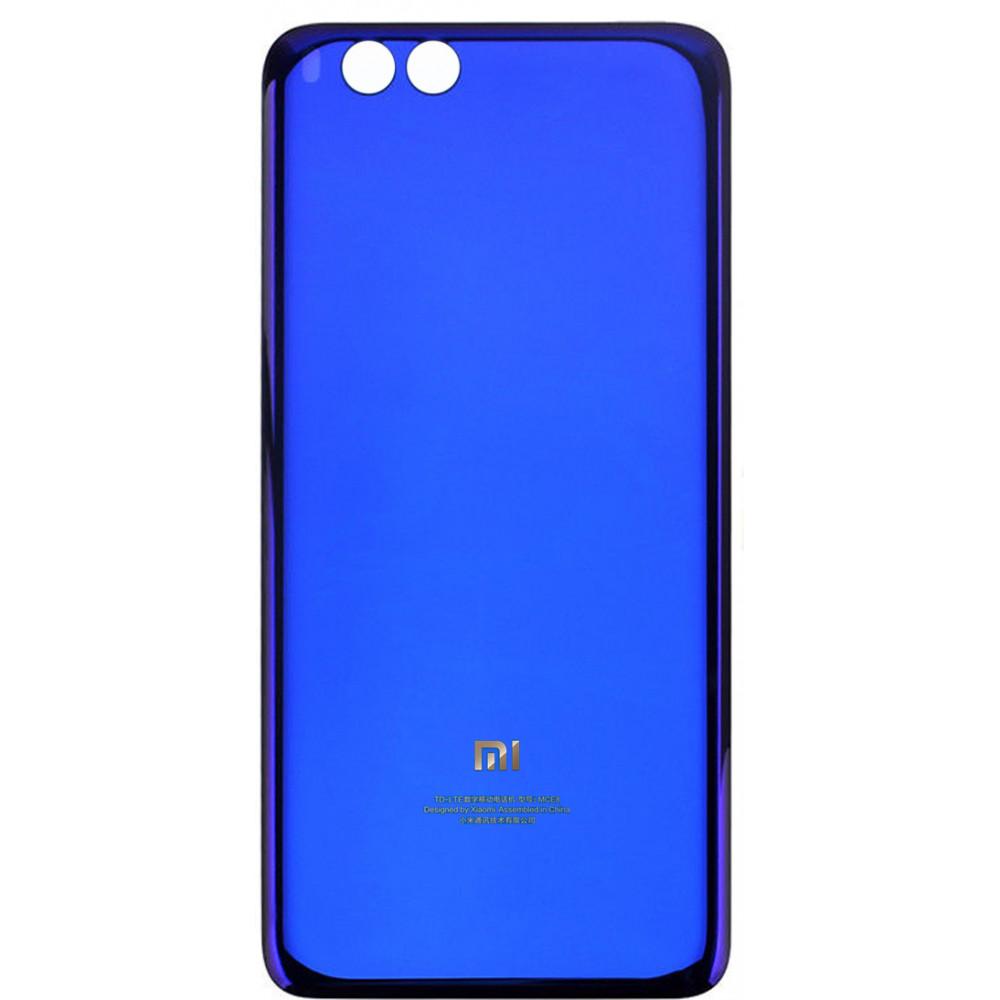 Задняя крышка для Xiaomi Mi Note 3 (стекло) Blue
