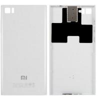 Задняя крышка для Xiaomi Mi3 белая