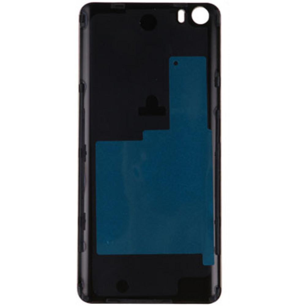 Задняя крышка для Xiaomi Mi5 (стекло) Black