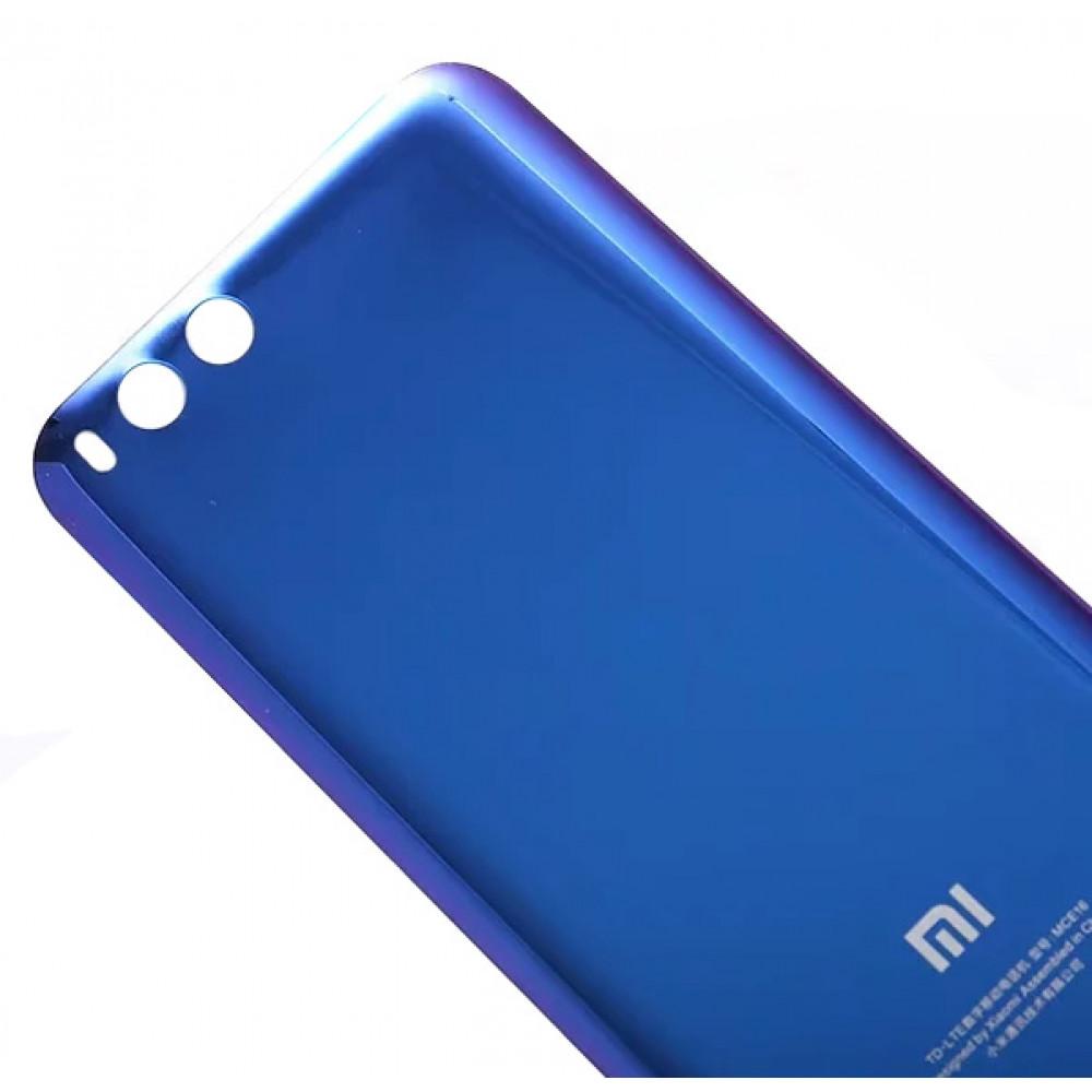 Задняя крышка для Xiaomi Mi6 (стекло) Blue