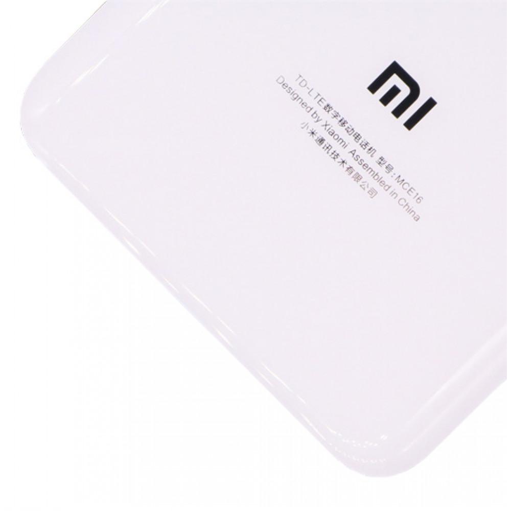 Задняя крышка для Xiaomi Mi6 (стекло) White