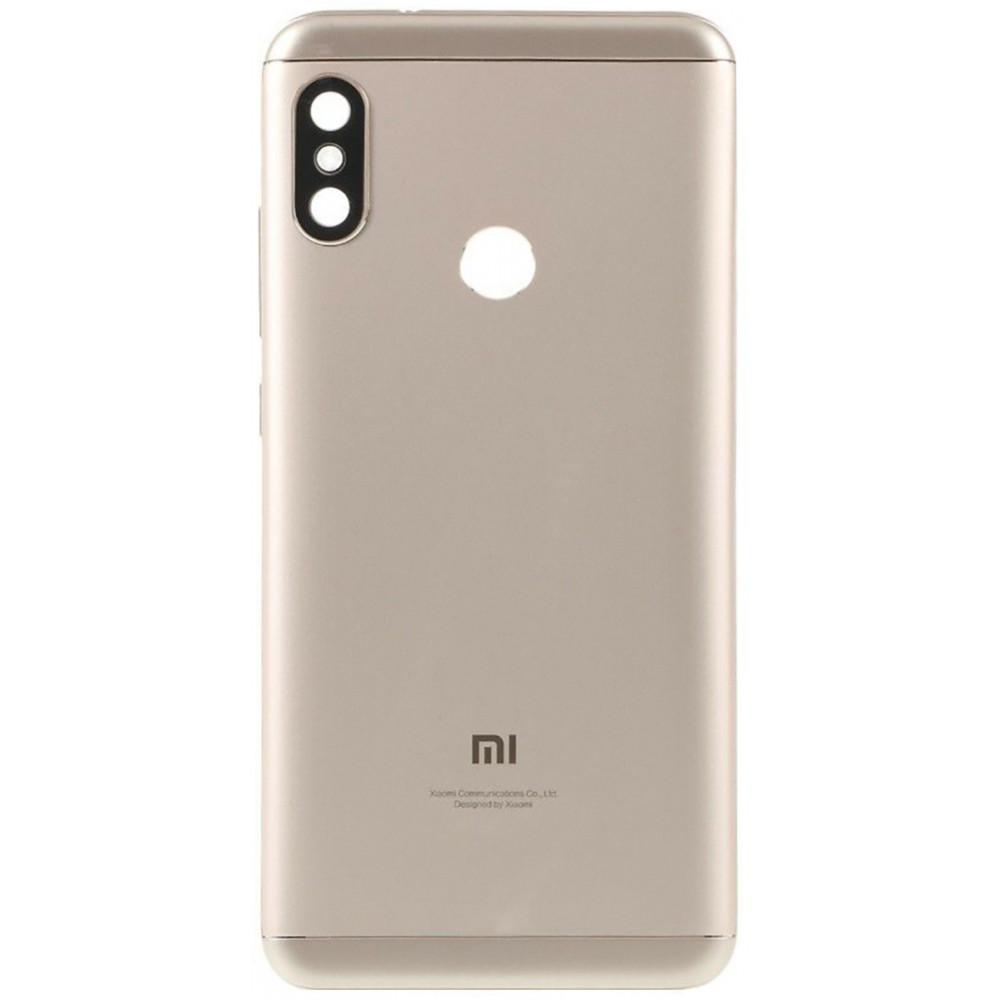 Задняя крышка для Xiaomi Redmi 6 Pro / Mi A2 Lite, золотая
