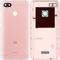 Задняя крышка для Xiaomi Redmi 6, розовая