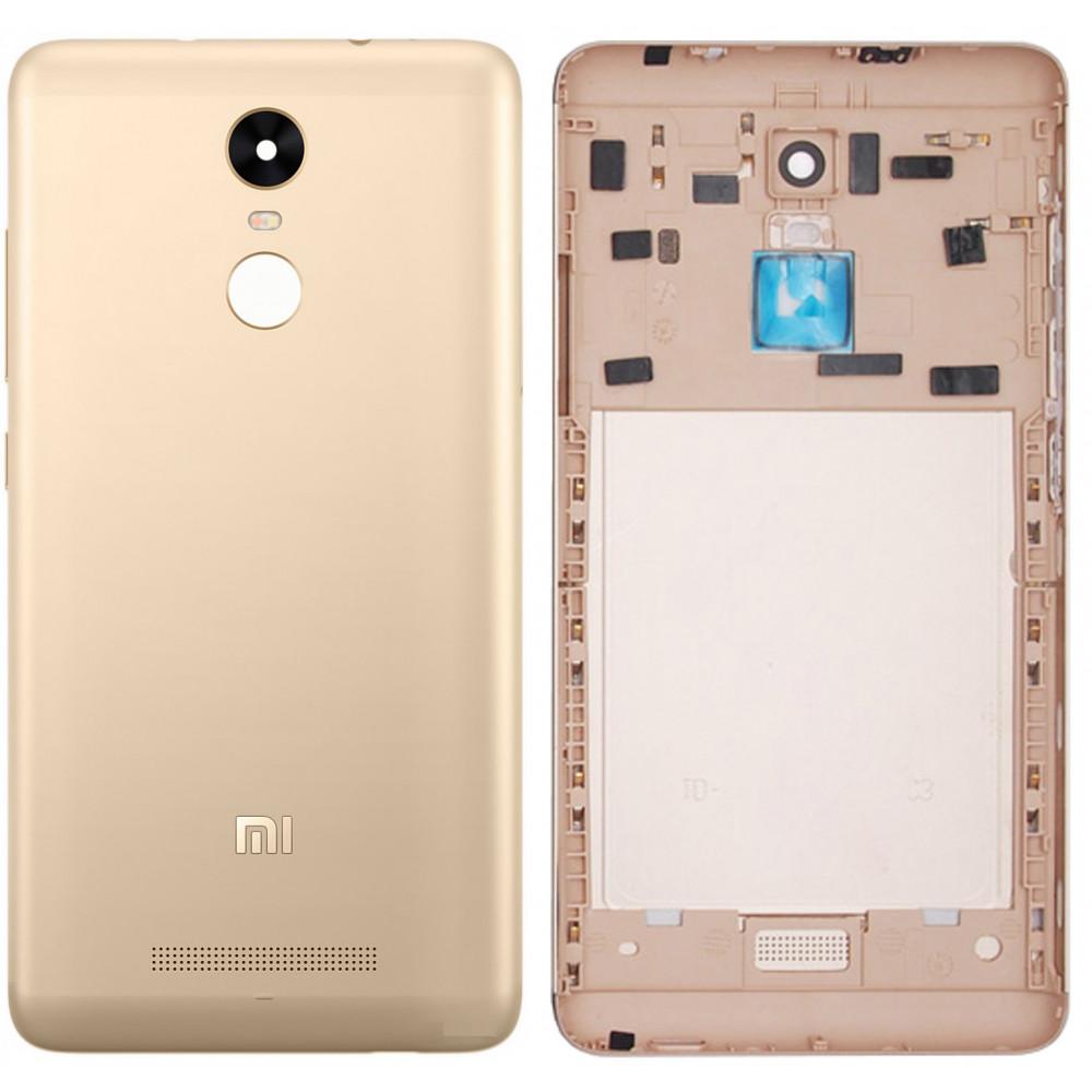 Задняя крышка для Xiaomi Redmi Note 3 Pro золотая