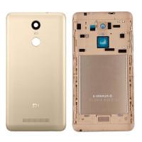 Задняя крышка для Xiaomi Redmi Note 3 золотая