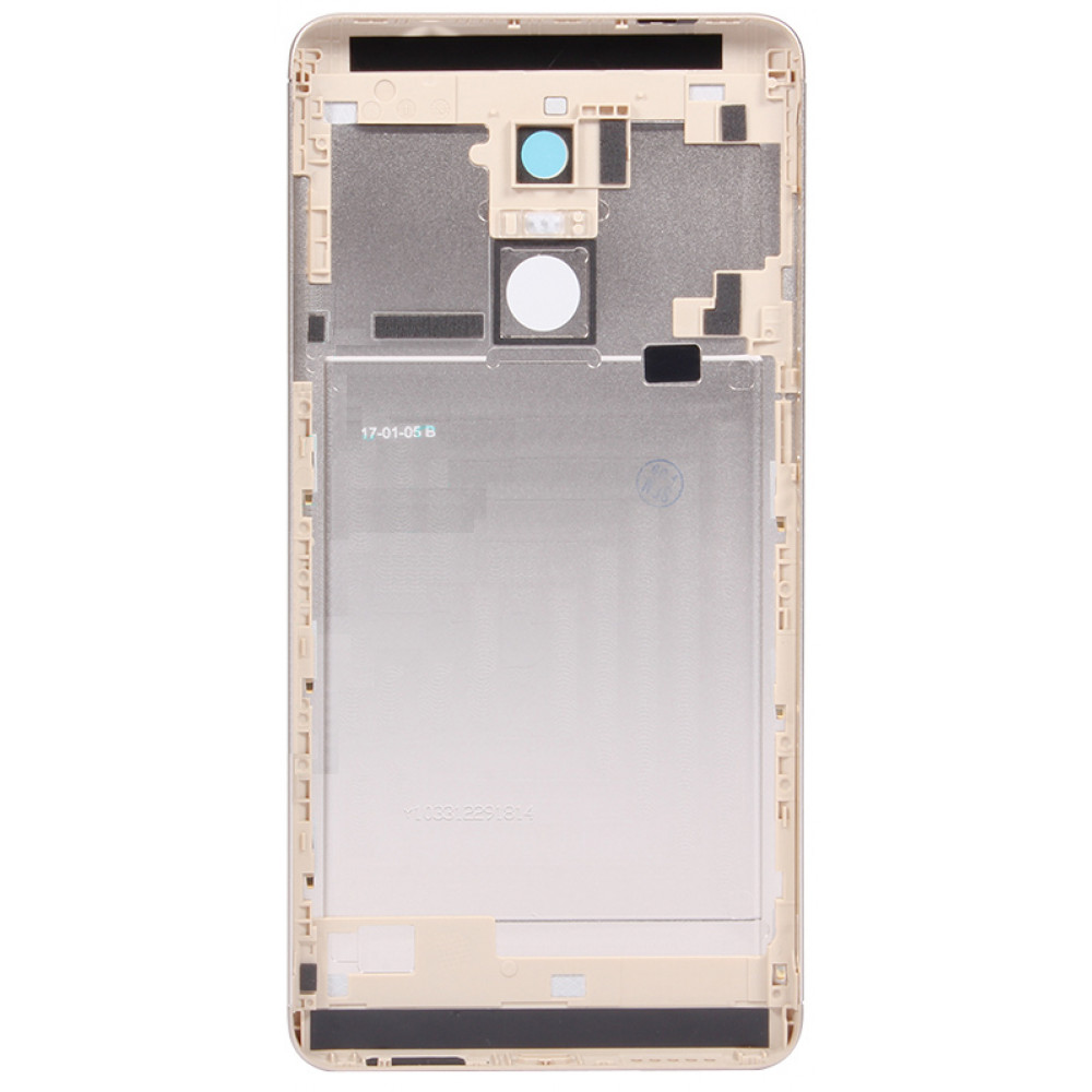 Задняя крышка для Xiaomi Redmi Note 4X золотая