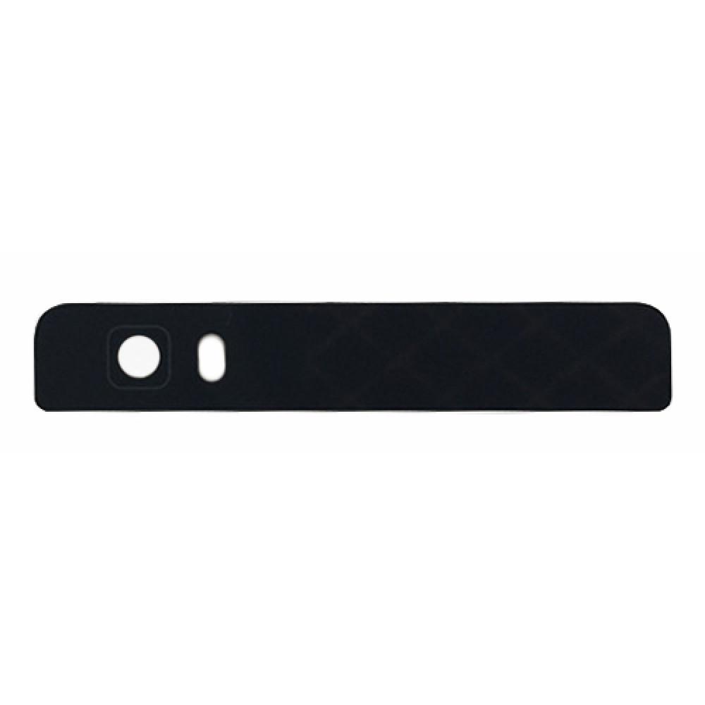 Стекло задней камеры (верхняя панель) для Huawei P8 Lite, черное